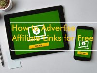 Advertise affiliate links for free