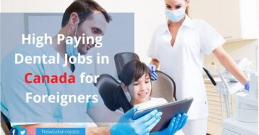 High Paying Dental Jobs in Canada for Foreigners