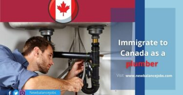 Immigrate to Canada as a plumber