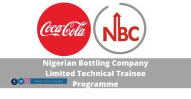Nigerian Bottling Company Limited Technical Trainee Programme