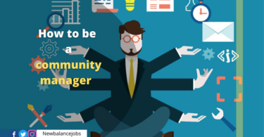 How to be a community manager