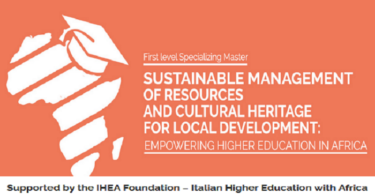IHEA Foundation/Italian Higher Education Specializing Masters Scholarship 2021/22 for Africans