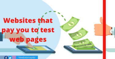 Websites that pay you to test web pages