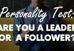 are you a leader or follower