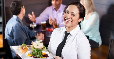 duties and responsibilities of a food server