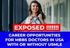 jobs for doctors without USMLE in USA